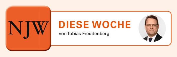 Diese Woche von Tobias Freudenberg